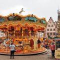 mercato di natale di Francoforte dettaglio carosello