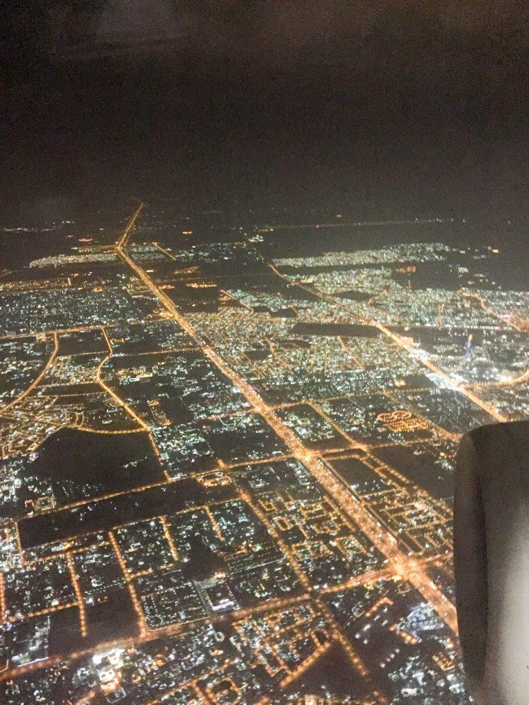 arrivo a doha