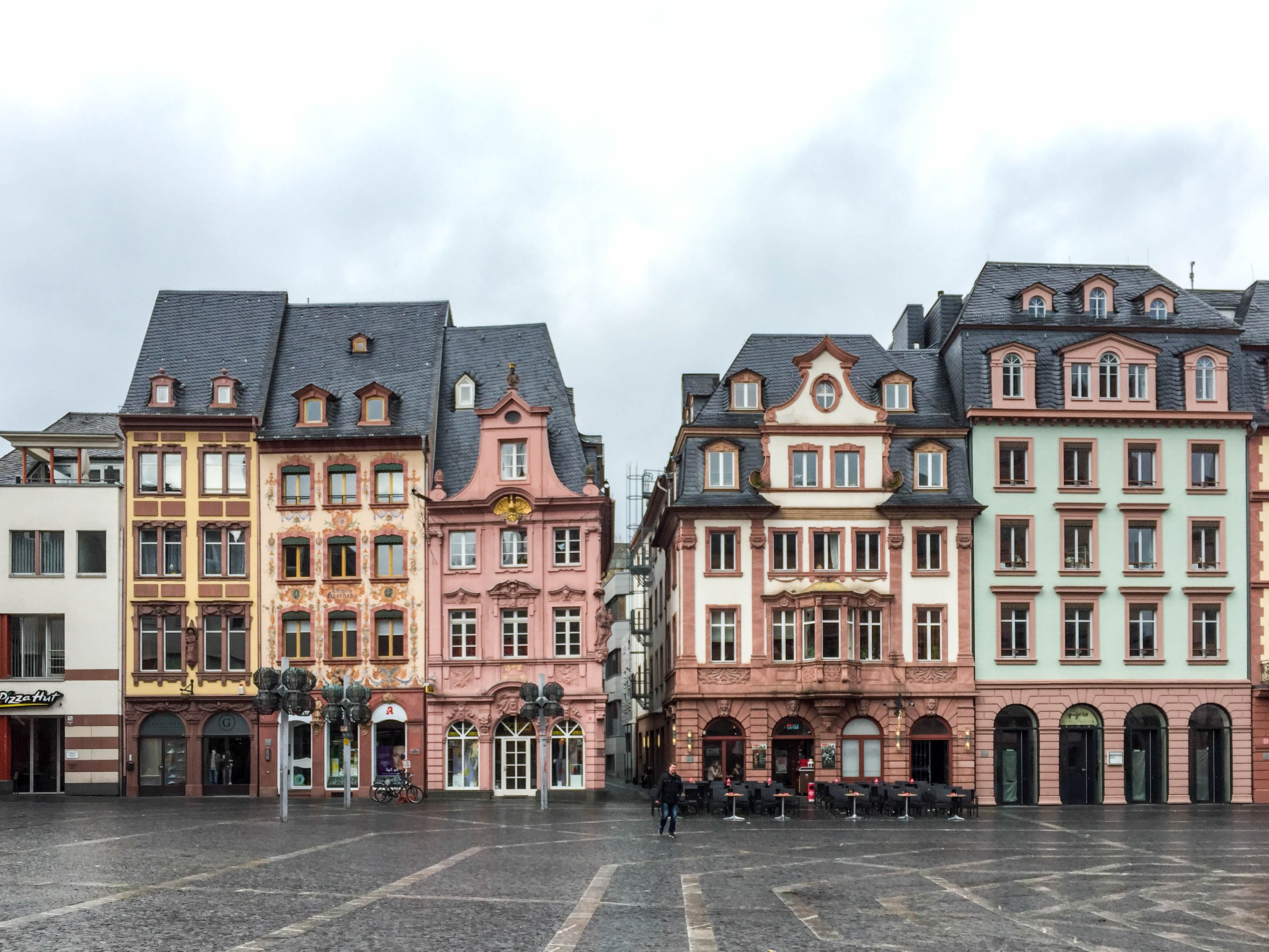 Markplatz Mainz Magonza