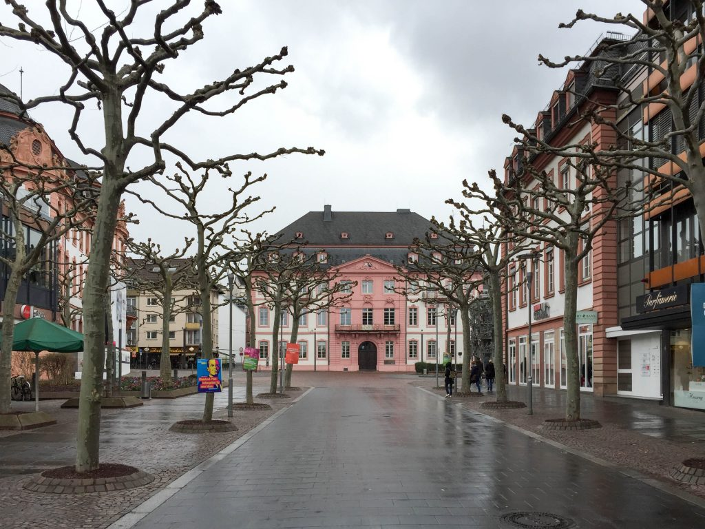 Palazzo Dettaglio Mainz - Magonza