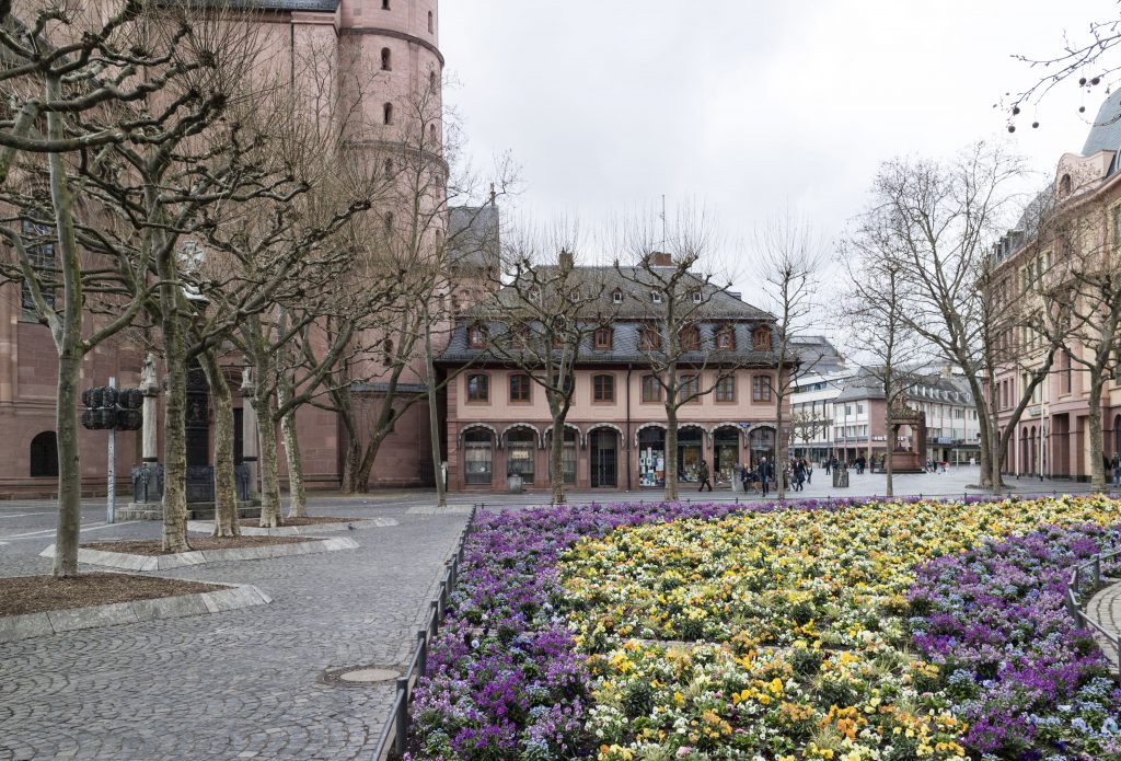 Mainz - Magonza Piazzetta Fiori