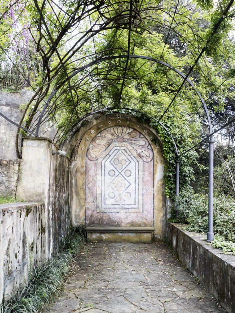 Firenze - Giardino Villa Bardini grotta