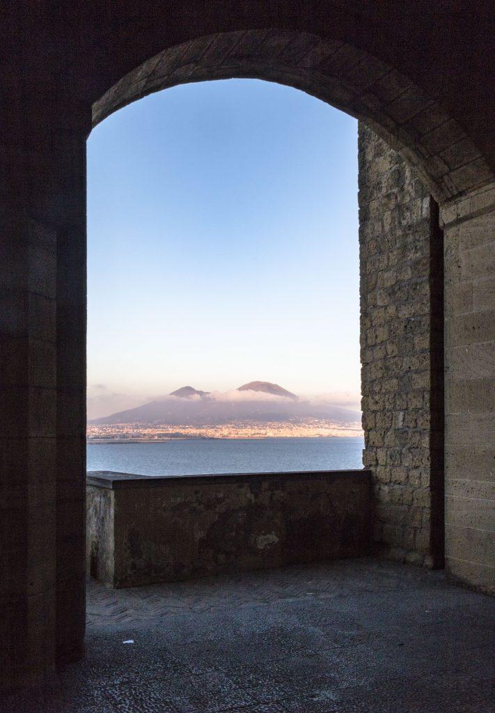 Napoli - Castel dell'Ovo veduta
