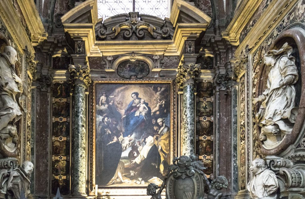 basilica Santa Chiara napoli