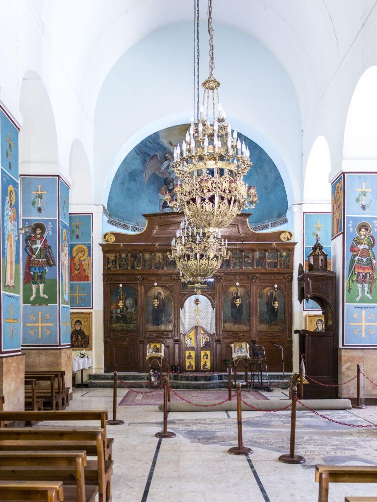 chiesa greco - ortodossa di san Giorgio interno