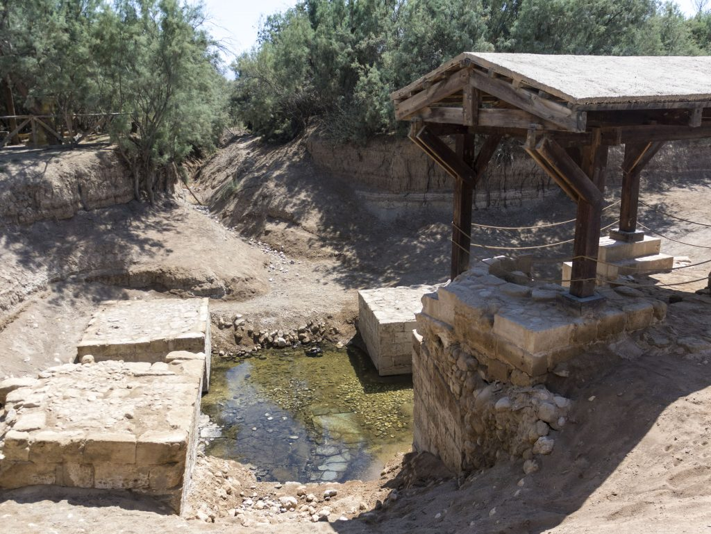 Giordania luogo battesimo Gesù Cristo