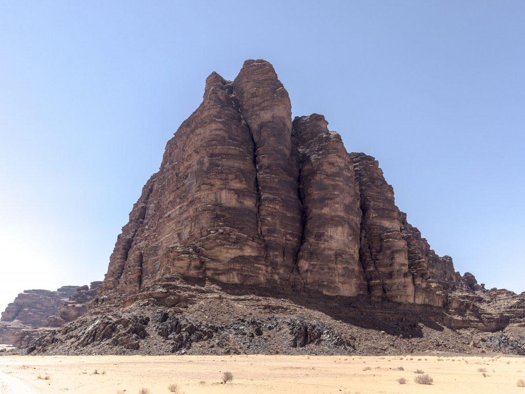 Wadi Rum - il suo paesaggio