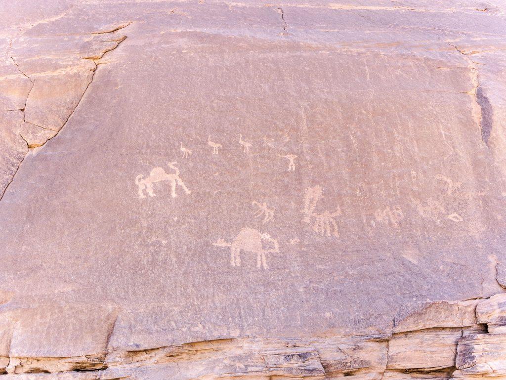 Wadi Rum - i petroglifici