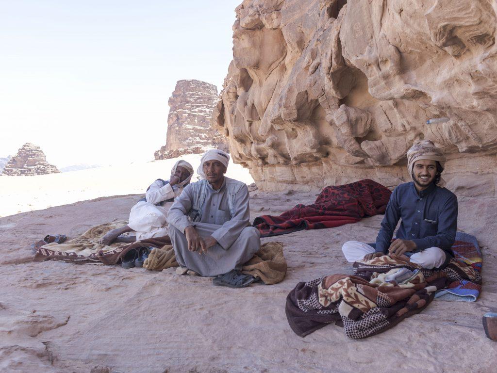 wadi rum le sue persone