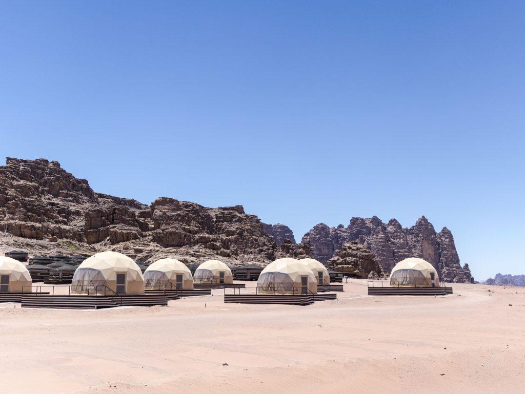 wadi rum il campo tendato