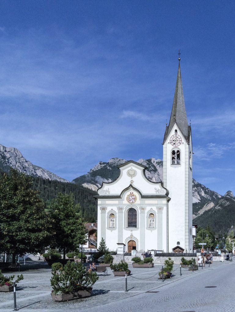 chiesa di san virigilio di Marebbe