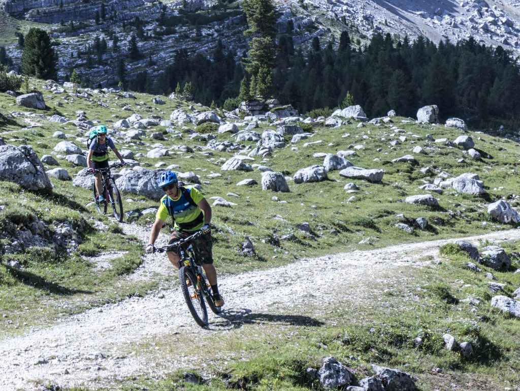 valle di fanes le escursioni in Mountain bike