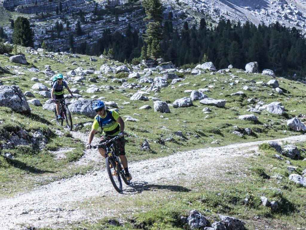 valle di fanes le escursioni in Mountain bike