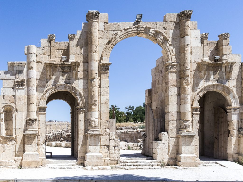 il sito unesco Jerash