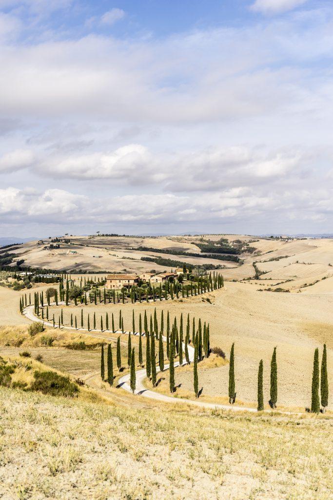 Crete Senesi - L'agriturismo Baccoleno