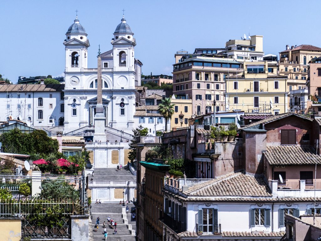vista terrazza hotel portrait roma