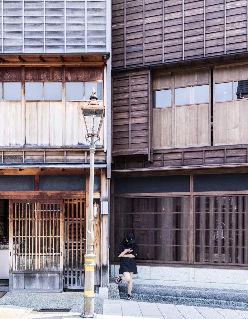 KANAZAWA - IL QUARTIERE HIGASHI-CHAYA