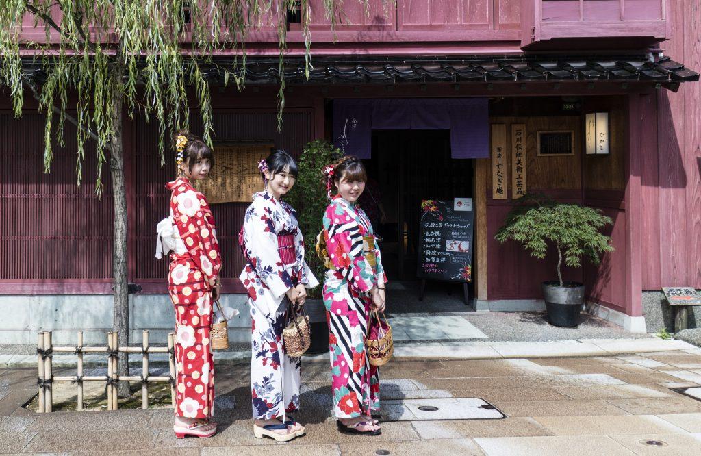 ragazze kanazawa