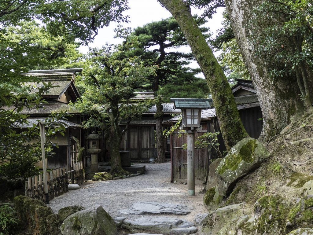 Kanazawa - Il parco Kenroku-en