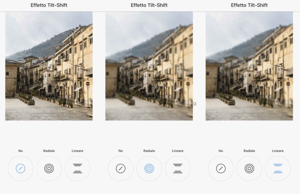 I TOOL DI INSTAGRAM – EFFETTO TILT-SHIFT ruberry