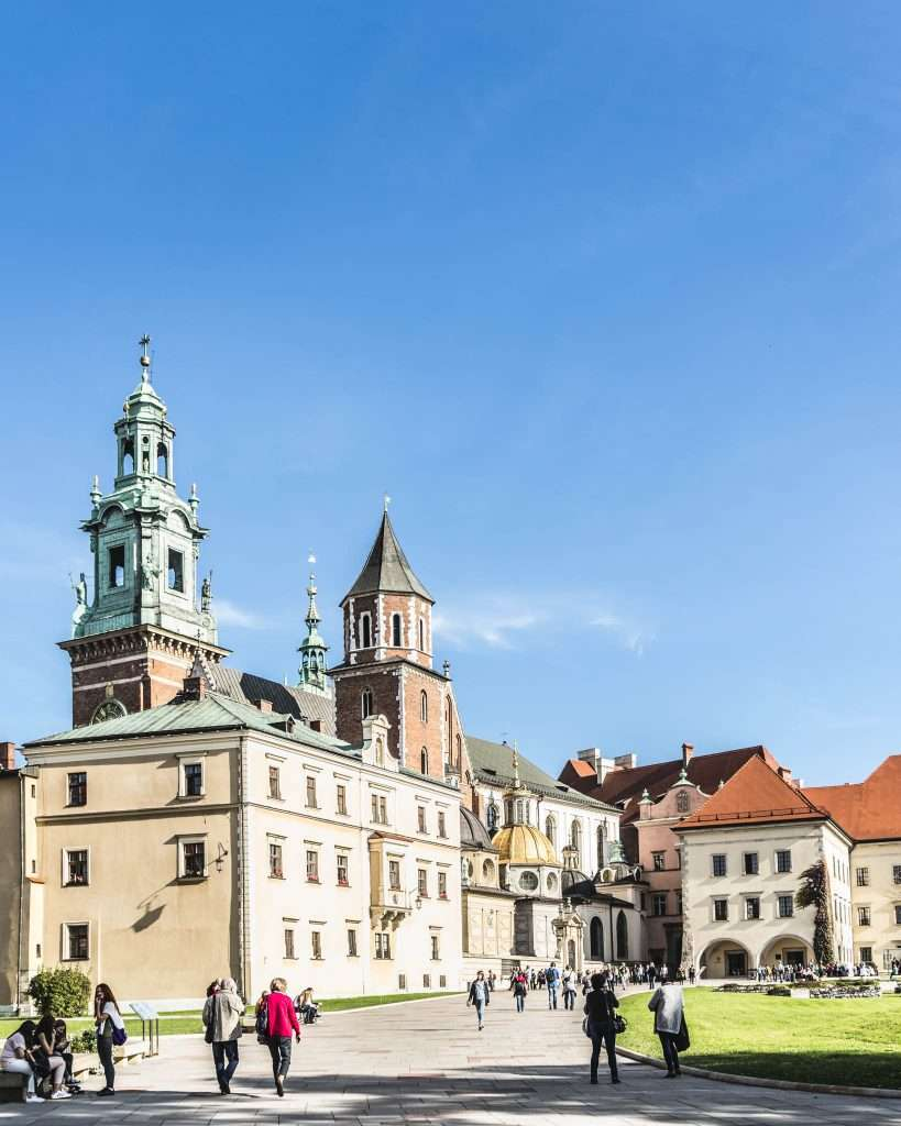 Cracovia - il complesso del Wawel