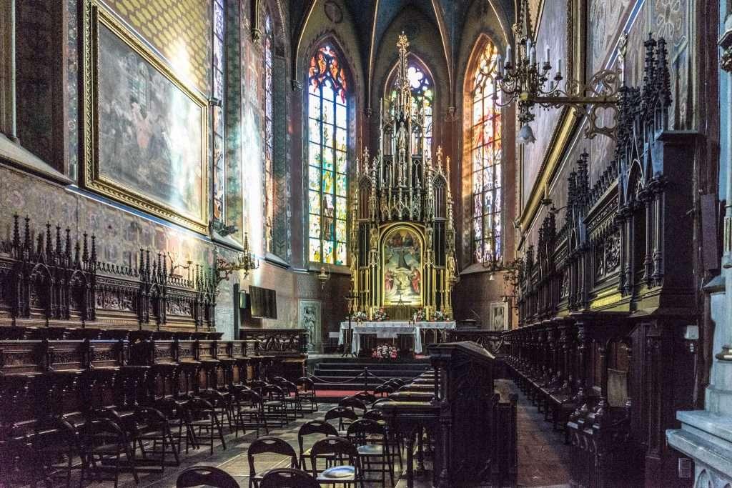 Cracovia - La Basilica di San Francesco