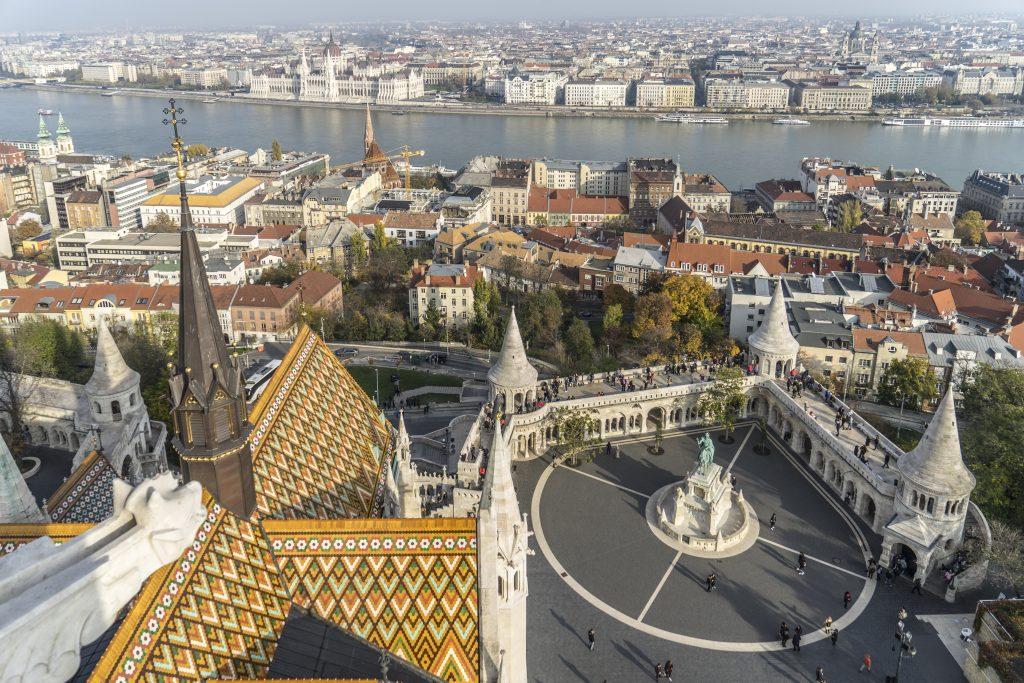 BUDAPEST – LA BELLISSIMA MATHIA'S CHURCH ruberry