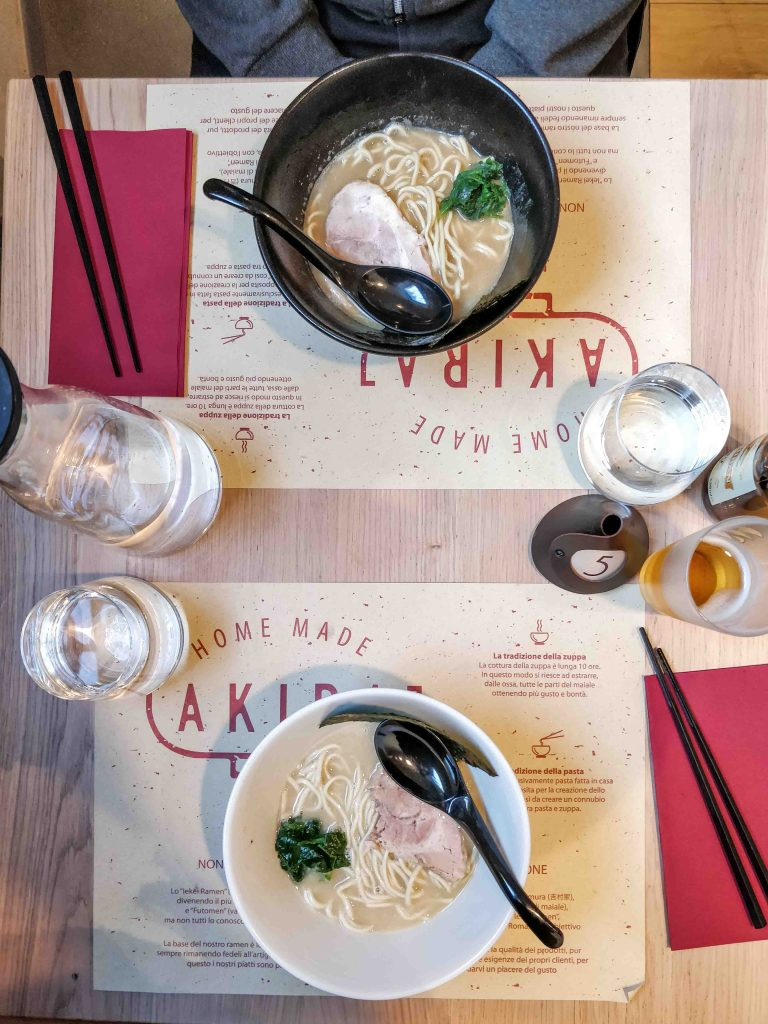 DOVE MANGIARE A ROMA – AKIRA RAMEN BAR ruberry