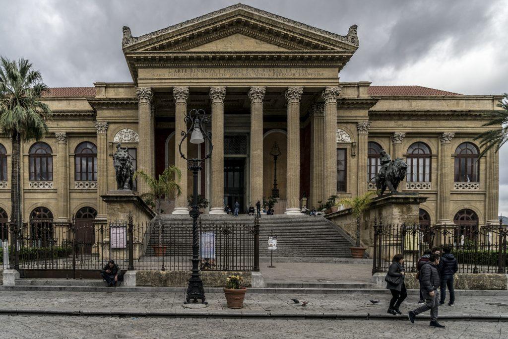 Ruberry PALERMO – LA PALERMO OTTOCENTESCA DEL LIBERTY Teatro Massimo