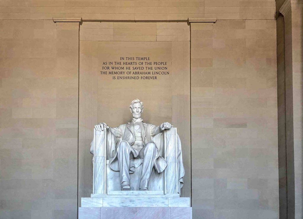 THE NATIONAL MALL – IL MEMORIALE DI LINCOLN