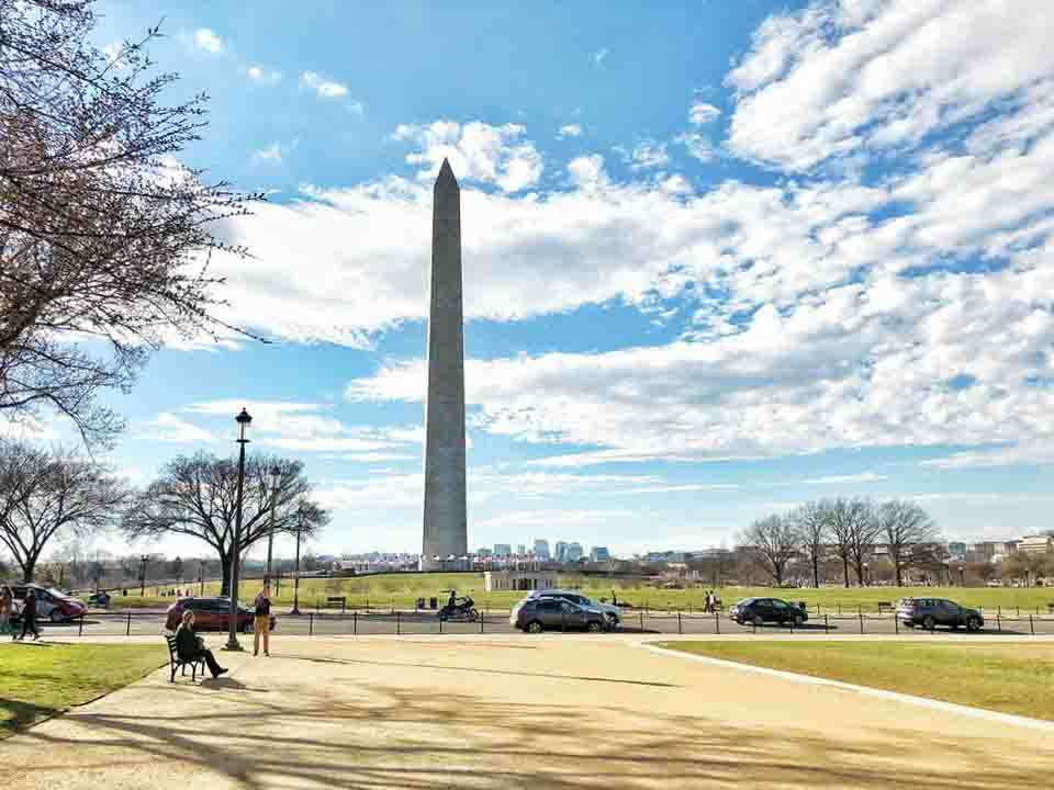 THE NATIONAL MALL – IL MONUMENTO A WASHINGTON
