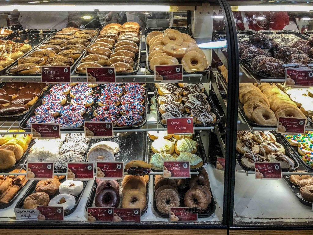 Beiler's Doughnuts UN WEEKEND A PHILADELPHIA – READING TERMINAL MARKET