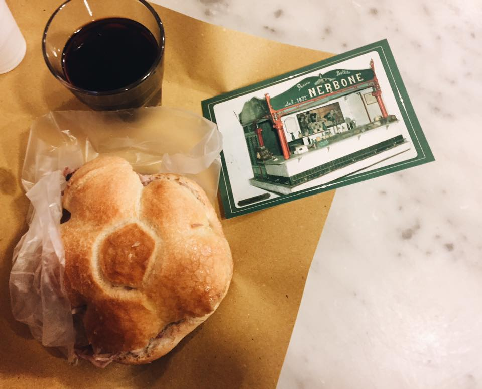 48 ore a Firenze - pranzo da Nerbone