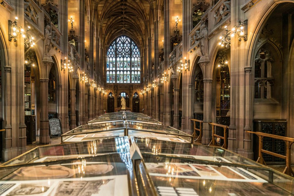 MANCHESTER – JOHN RYLANDS LIBRARY