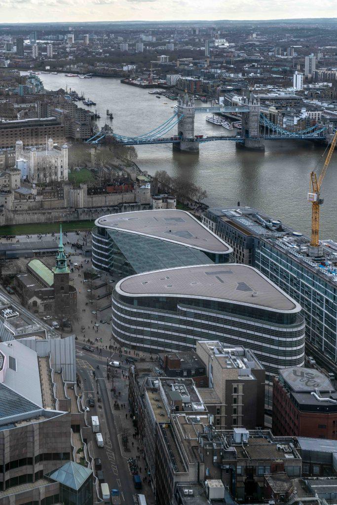 LONDRA - VISITA ALLO SKY GARDEN