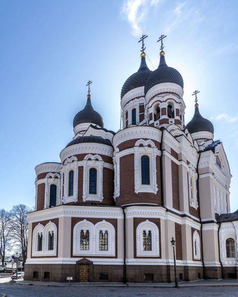 TALLINN – LA CHIESA ST.MARY'S E LA SAINT ALEXANDER NEVSKY