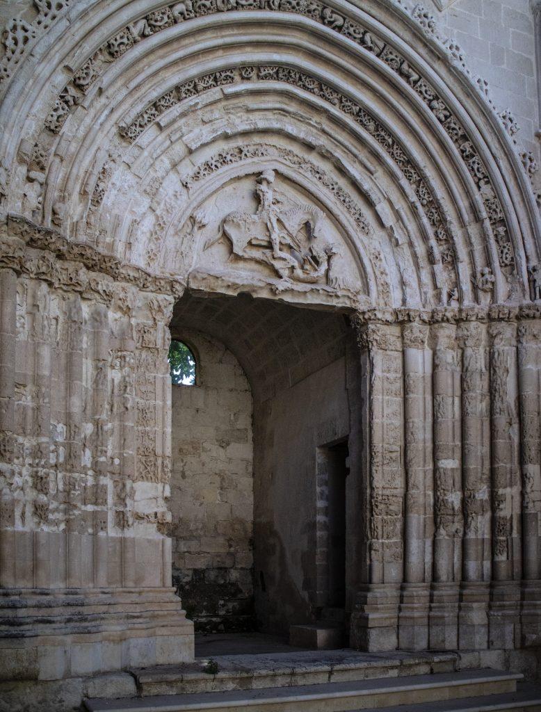 RAGUS – RAGUSA IBLA portale di san giorgio