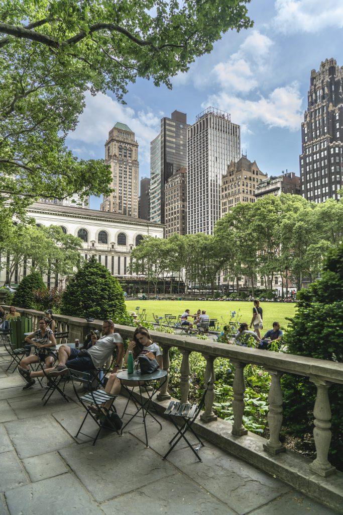 NEW YORK – Bryant Park IL PARCO TRA I GRATTACIELI