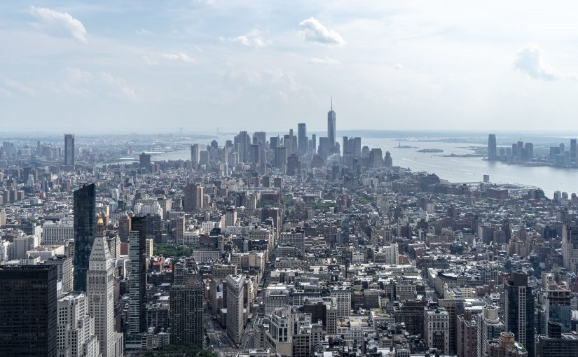 NEW YORK – LA VISTA DALL'EMPIRE STATE BUILDING