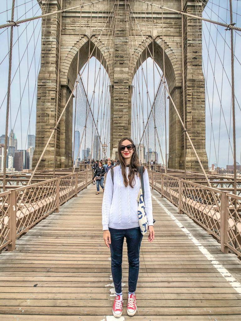 NEW YORK – PASSEGGIARE SUL PONTE DI BROOKLYN