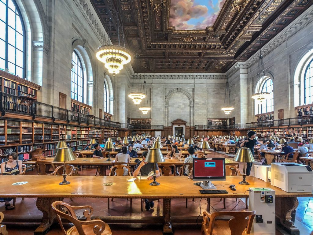 NEW YORK - NEW YORK PUBLIC LIBRARY