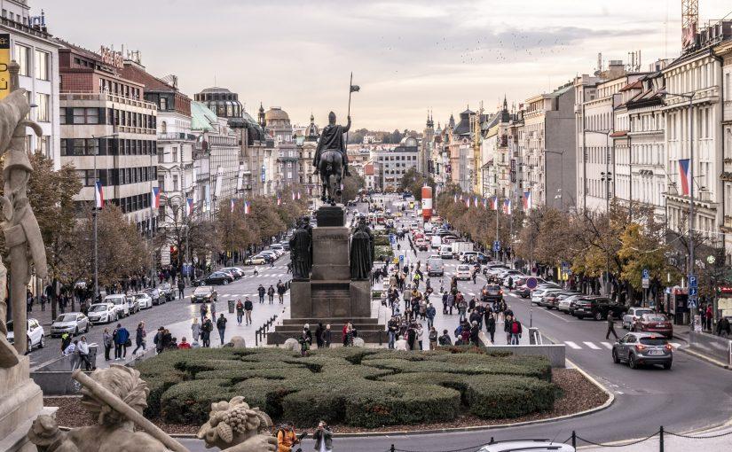 Praga – la battaglia per la libertà ed il cubismo