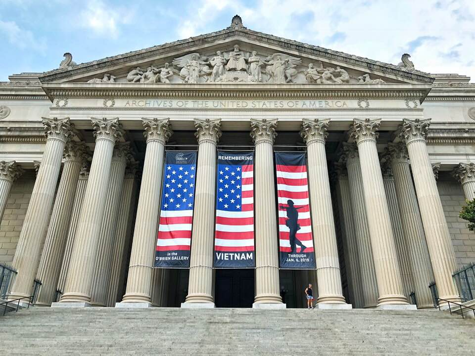 Washington DC - NATIONAL ARCHIVES