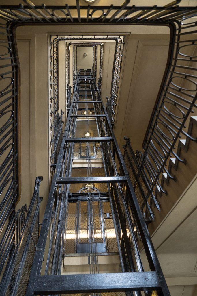 ascensore antico Buenos Aires