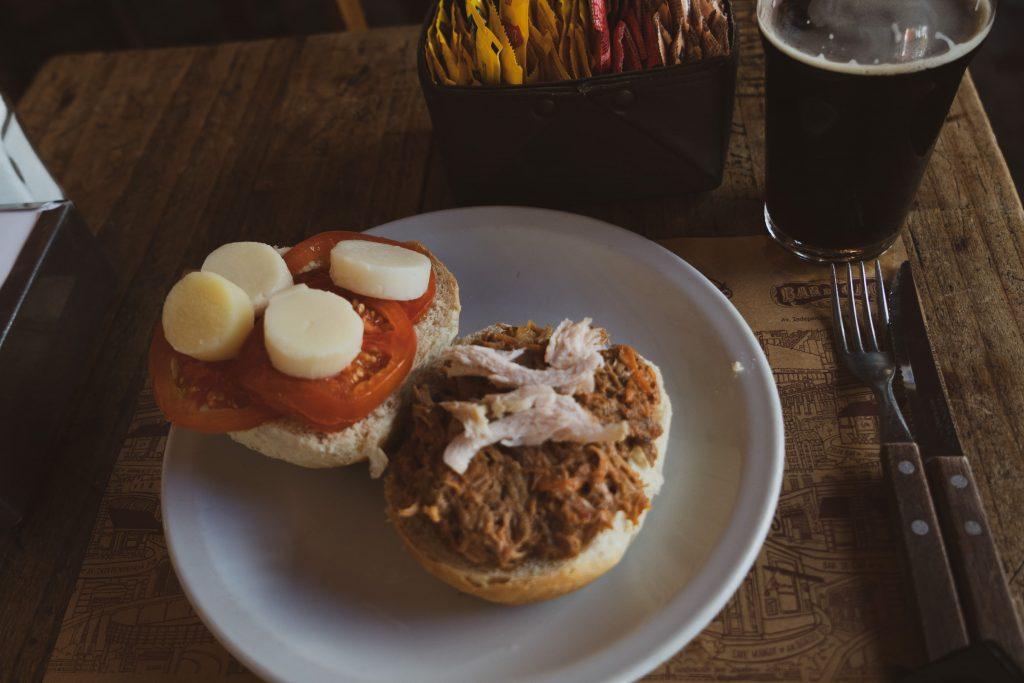 sandwich de pavida en escabeche, tacchino sott'aceto SAN TELMO – DOVE MANGIARE EL FEDERAL