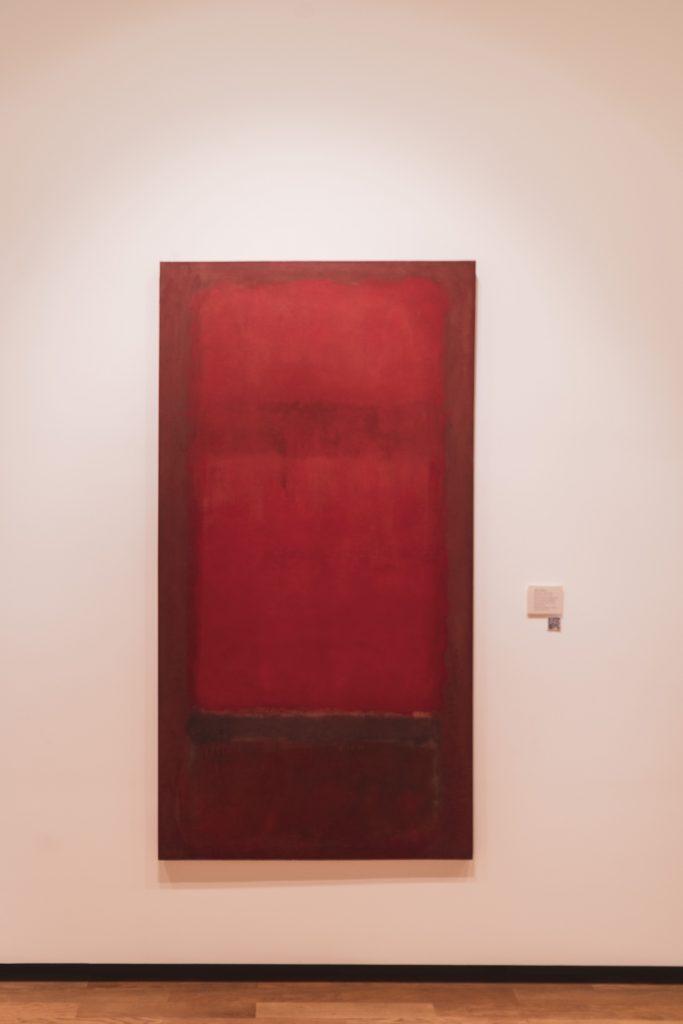 Rothko MUSEO NACIONAL DE BELLAS ARTES