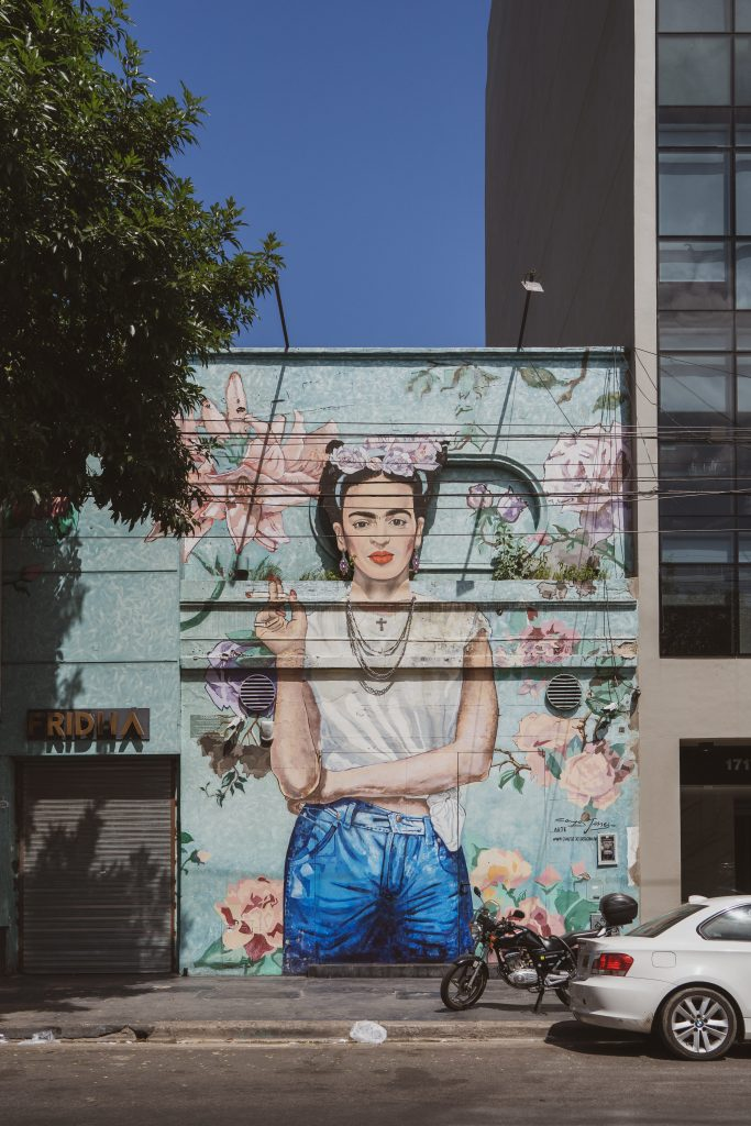 Frida Kalo Street Art Buenos Aires Palermo