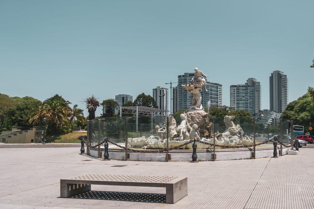 """""""Fuente de Las Nereidas"""" puerto madero - costanera sur"""