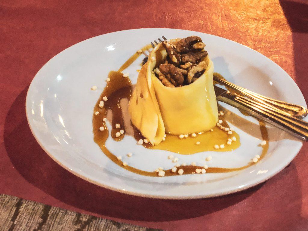 Quesillo con dulce de cayote, nueces y miel de caña SALTA – I PIATTI DELLA TRADIZIONE