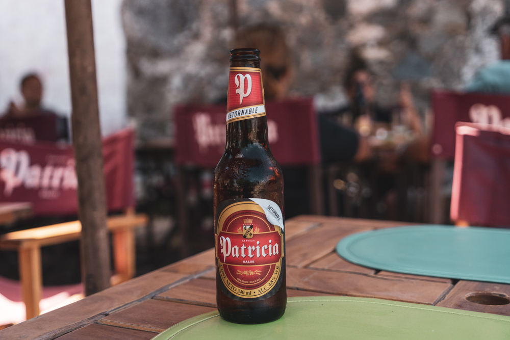 Colonia del Sacramento - birra Patricia